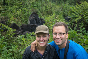 Rwanda - Checking out the Mountain Gorillas